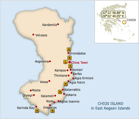 Chios Island Greece Awarded Island 2012