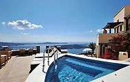 Greece, Greek Islands, Cyclades Islands, Santorini, Imerovigli, Villa Irini