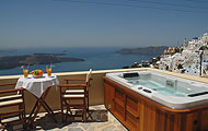 Greece, Greek Islands, Imerovigli, Volcano, Santorini