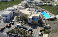 Greece,Greek Islands,Cyclades,Santorini,Megalochri,Star Hotel