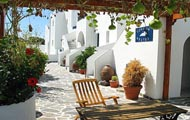Greece,Greek Islands,Cyclades,Amorgos,Aegiali,Nostos Pension