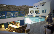 Poseidon Hotel, Cyclades Islands, Ios Island, beach, pool, garden.