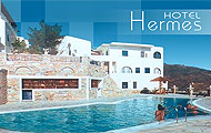 Hermes Hotel, Cyclades,Ios,with pool,beach,garden,with bar,