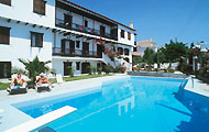 Greece, Greek Islands, Sporades, Skopelos, Elli Hotel, Swimming Pool, Sun, Holidays in Greece