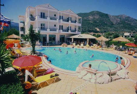 Greece, Greek Islands, Ionian Islands, Lefkada, Nidri, Lefko Hotel