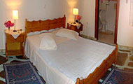 Greece, Saronic Islands, Hydra, Mandraki, Miramare Bungalows, close to the beach