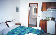 Studio Dimitra Beach Hotel in Kalamaki, Heraklion, Crete island, Greece.