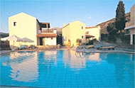 Avdou villas,with pool,with garden,view