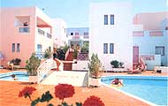 Magda hotel,gouves,beach,swimming pol,garden