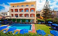 Olympia Hotel, Perivolia, Rethymnon, Crete, Greek Islands, Greece Hotel