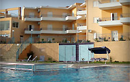 Panorama Resort Hotel, in Finikounda, Methoni, Messinia, Peloponissos, Greece.