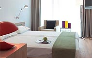 Hotel Fresh, Interior Design, Athens, Greece, Attica, Akropolis, Parthenon,