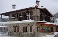 Greece, Central Greece, Karditsa, Plastira Lake, Neohori,  Katsaros Suites