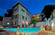 Petradi Hotel, Kalamaki Village, Tsagkarada, Pelion Area, Magnisia, Thessalia Region, Holidays in North Greece