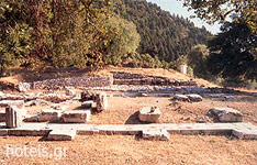 Ahaia Archaeological Sites - Ano Louson Archaeological Site