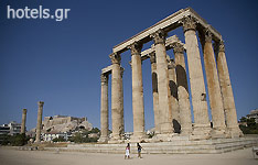 Attica Archaeological Sites - The Temple of Olympian Zeus