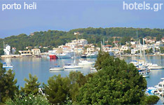 porto heli hotels and apartments Peloponnese greece