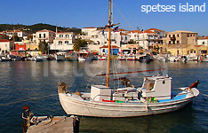 spetses island hotels and apartments greek islands greece
