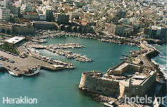 heraklion prefecuture crete island hotels and apartments greece