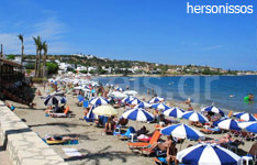 hersonissos hotels and apartments crete island greece