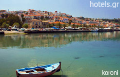 koroni hotels and apartments Peloponnese greece