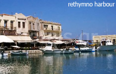 rethymnon prefecuture crete island hotels and apartments greece